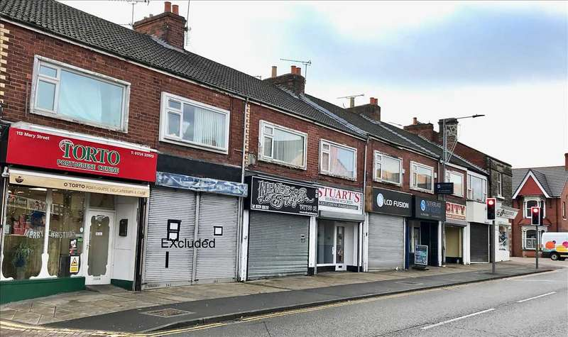 Commercial Property for sale in and First Floors Mary Street, Scunthorpe