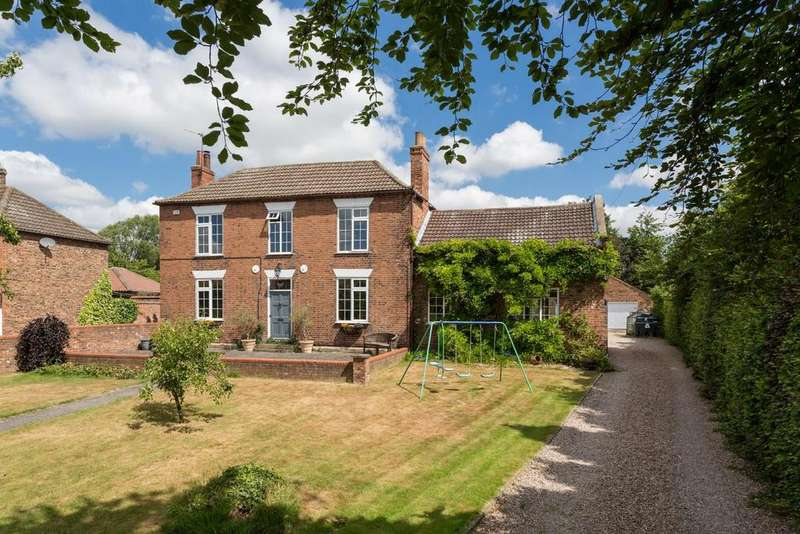 4 Bedrooms Detached House for sale in Garmancarr Lane, Wistow, Selby