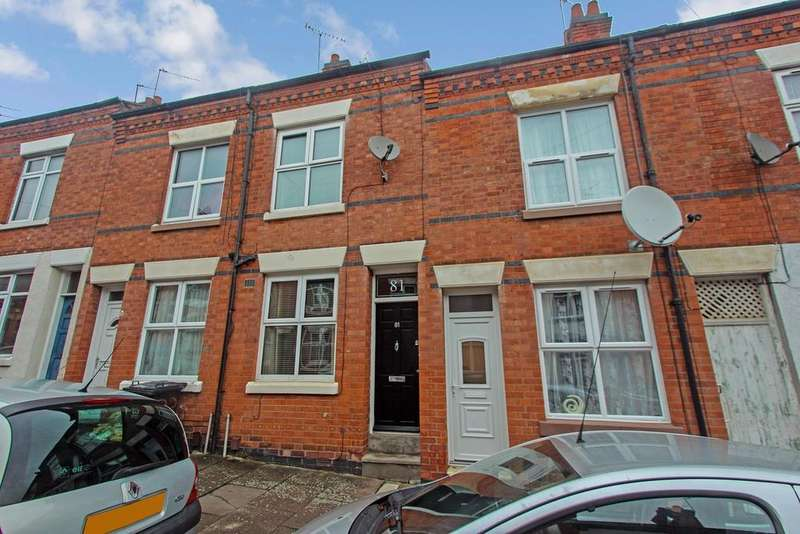 2 Bedrooms Terraced House for sale in Warwick Street, Leicester, LE3