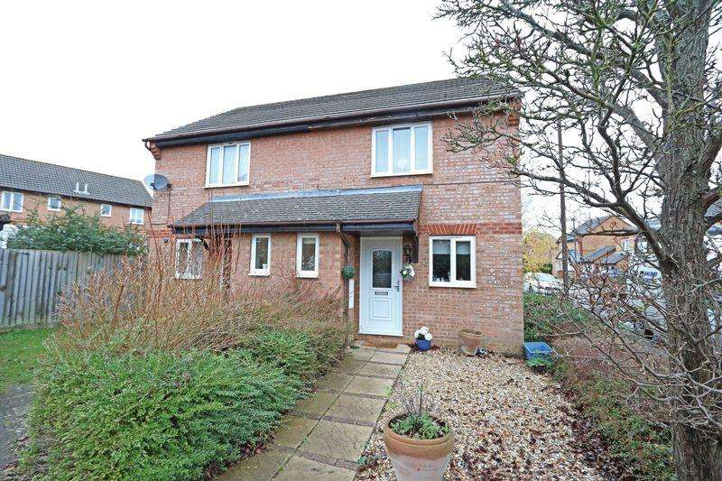 2 Bedrooms Semi Detached House for sale in Roeburn Crescent, Emerson Valley, Milton Keynes