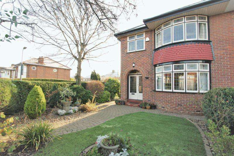 3 Bedrooms Semi Detached House for sale in Bishopton Road, Stockton, TS18 4PN
