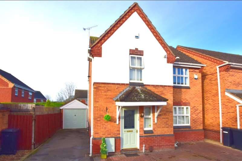 3 Bedrooms Detached House for sale in Taverners Road, Leicester, LE4