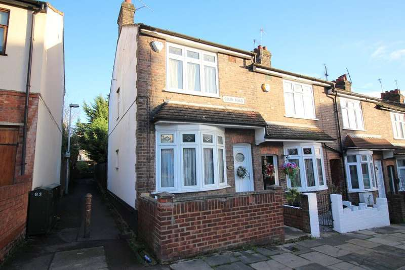 2 Bedrooms End Of Terrace House for sale in Colin Road, Luton, Bedfordshire, LU2 7RX