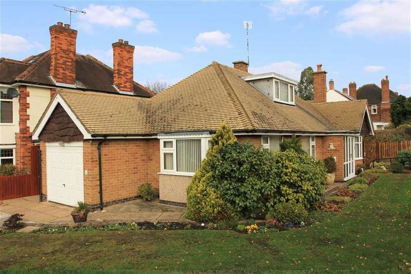 3 Bedrooms Detached Bungalow for sale in Southland Road, South Knighton, Leicester
