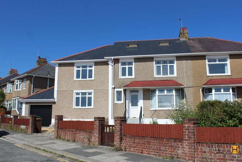 6 Bedrooms Semi Detached House for sale in Segrave Road, Milehouse, Plymouth