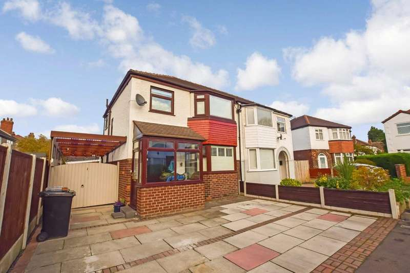3 Bedrooms Semi Detached House for sale in Bexhill Avenue, Timperley, Cheshire, WA15