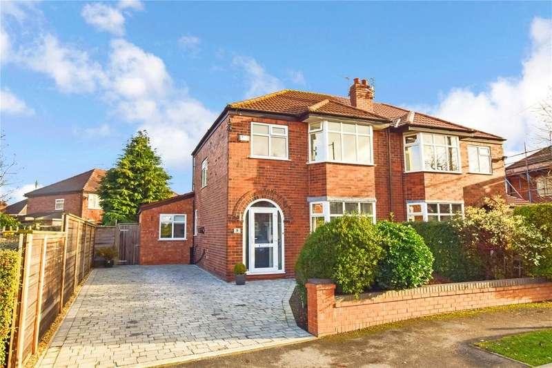 3 Bedrooms Semi Detached House for sale in Bedford Drive, Timperley, Cheshire, WA15