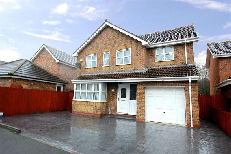 4 Bedrooms Detached House for sale in Whitebridge Drive, Darlington