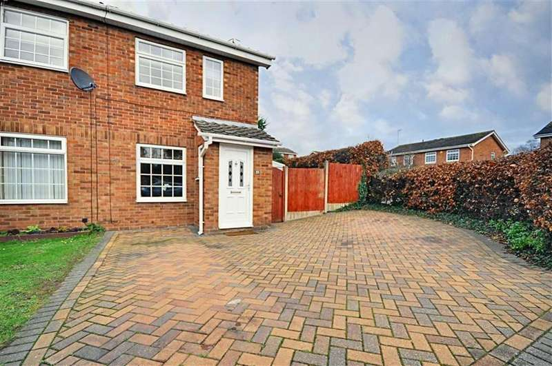 2 Bedrooms Semi Detached House for sale in Stanway Close, Worcester