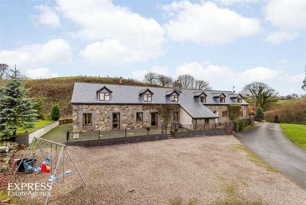 7 Bedrooms Detached House for sale in Llanfihangel, Llanfyllin, Powys