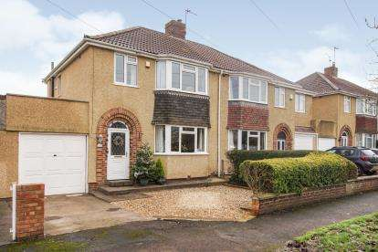 3 Bedrooms Semi Detached House for sale in Bromley Heath Road, Downend, Bristol, City Of Bristol