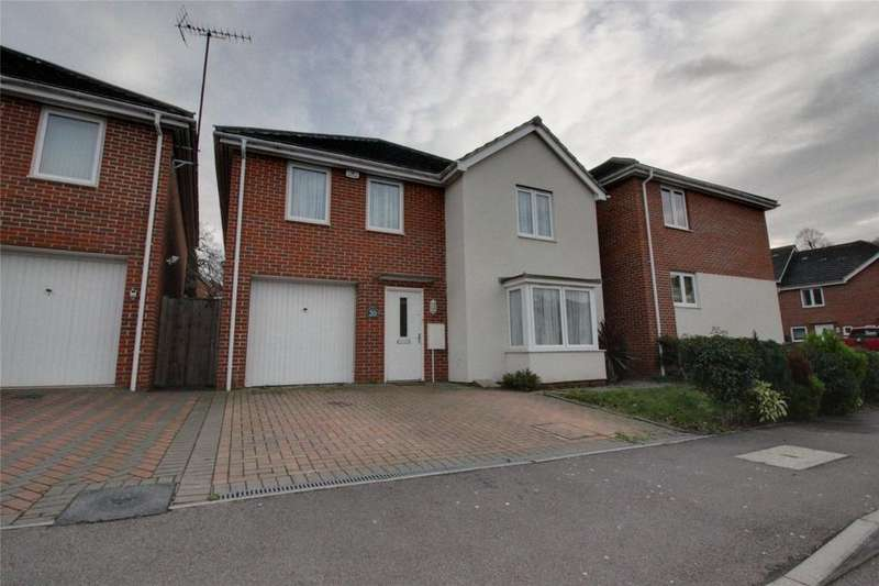 4 Bedrooms Detached House for sale in Regis Park Road, Reading, Berkshire, RG6