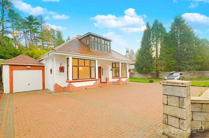4 Bedrooms Detached House for sale in Ayr Road, Giffnock, Glasgow