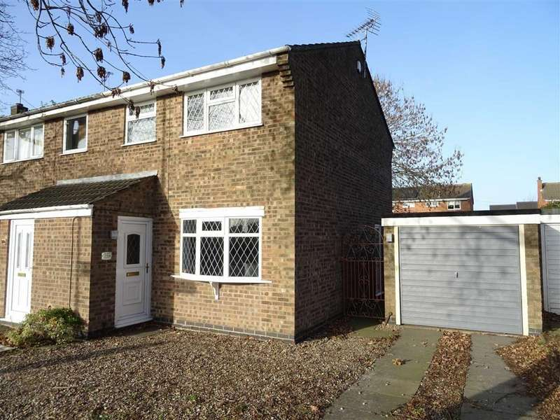 3 Bedrooms Semi Detached House for sale in Roston Drive, Hinckley