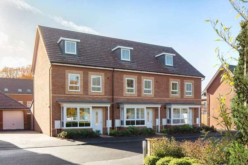 4 Bedrooms Terraced House for sale in Woodvale, Cricket Field Grove, Crowthorne