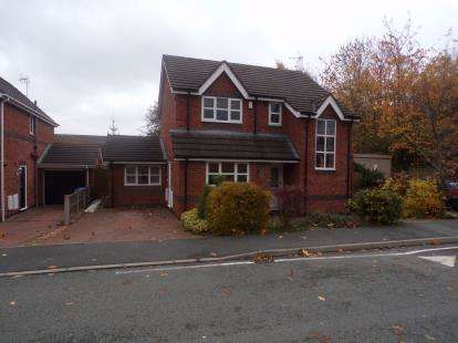 3 Bedrooms Detached House for sale in Shellbrook Drive, Ruabon, Wrexham, Wrecsam, LL14