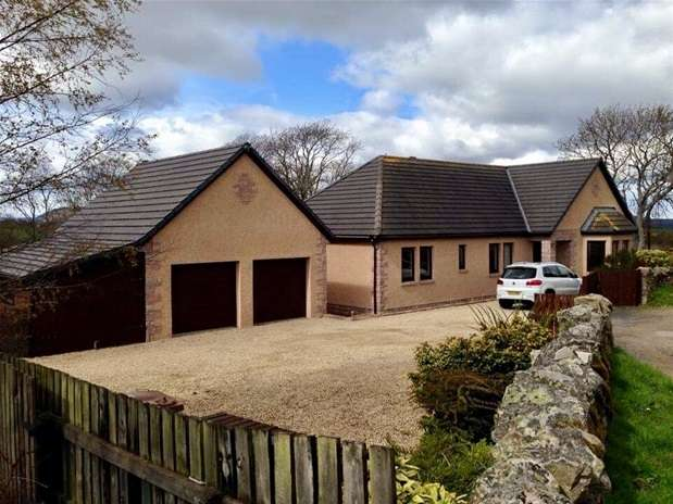 4 Bedrooms Detached Bungalow for sale in Shougle, Birnie, By Elgin