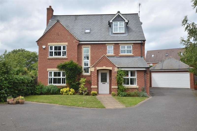 5 Bedrooms Detached House for sale in Cornhill Close, Ecclesbourne Meadows, Duffield