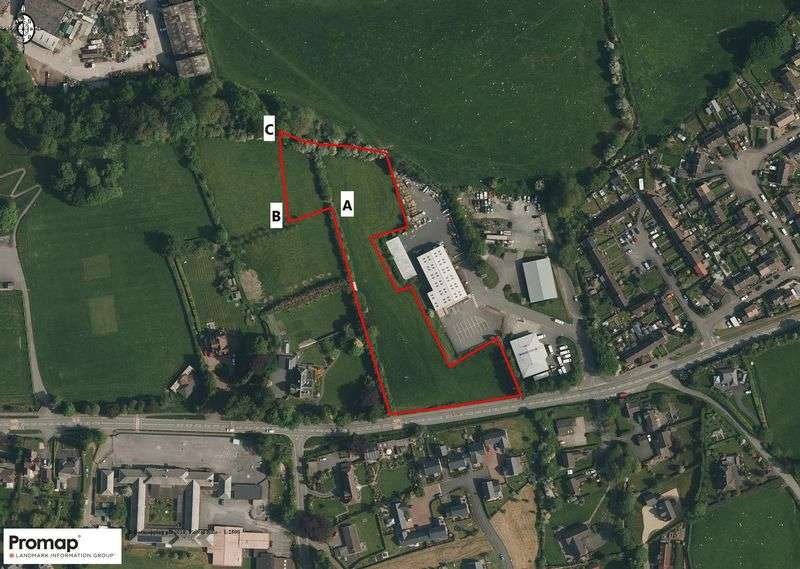 Property for sale in Land at Ludlow Road, Knighton, Powys