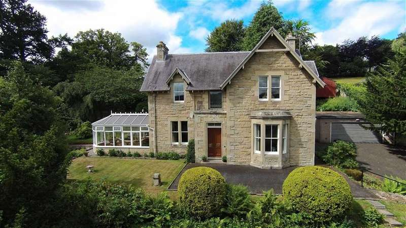 4 Bedrooms Detached House for sale in Galahill, Jedburgh