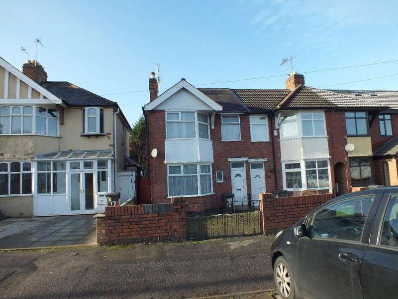 3 Bedrooms Semi Detached House for sale in Broad Avenue, Off Coleman Road, Leicester, LE5 4PT