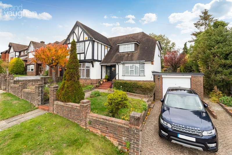 4 Bedrooms Detached House for sale in Brangwyn Crescent, Brighton, East Sussex, BN1