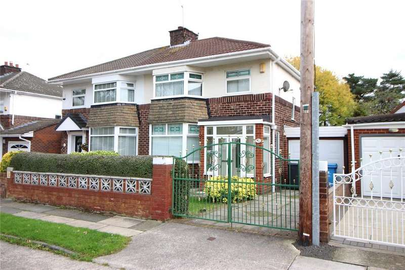 3 Bedrooms Semi Detached House for sale in Kingsway, Huyton, Liverpool, Merseyside, L36
