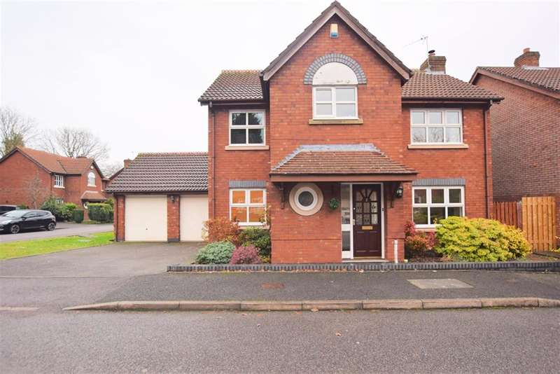 4 Bedrooms Detached House for sale in Rushbury Close, Shirley, Solihull, B90 3LD