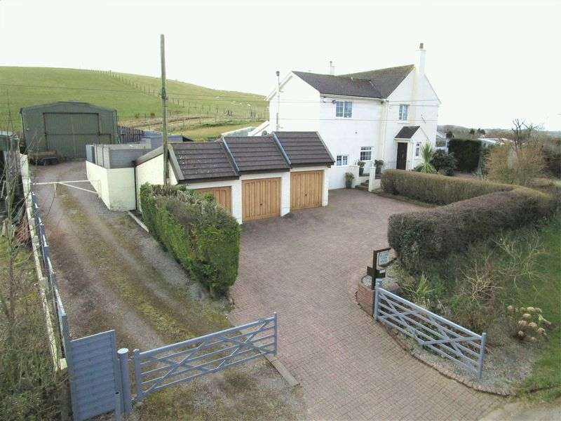 4 Bedrooms Property for sale in Hillside Farm House, Llansannor, Vale of Glamorgan