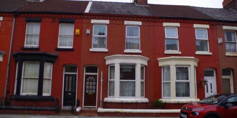 4 Bedrooms Terraced House for sale in Halsbury Road, Liverpool