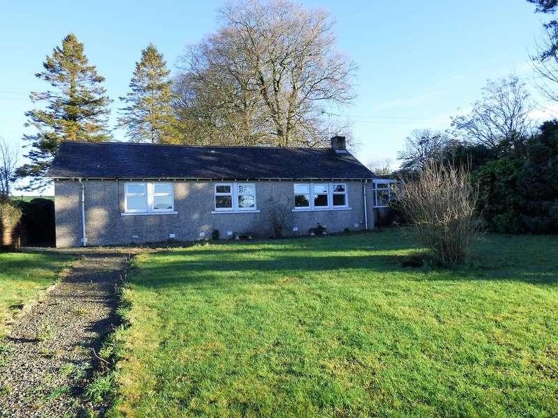 2 Bedrooms Detached Bungalow for sale in Glencaple Road, Dumfries DG1
