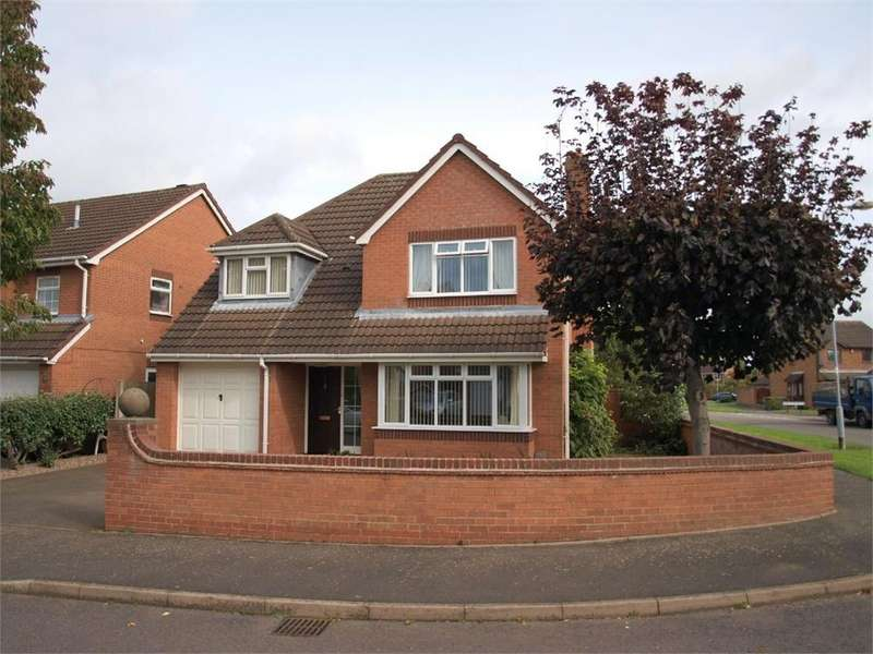 4 Bedrooms Detached House for sale in Turnbury Close, Branston, Burton-on-Trent, Staffordshire