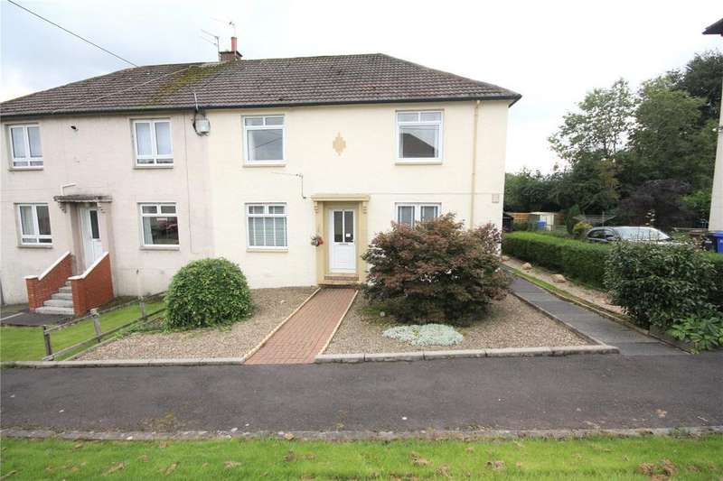 2 Bedrooms Flat for sale in 29 Broom Crescent, Ochiltree, Cumnock, East Ayrshire, KA18