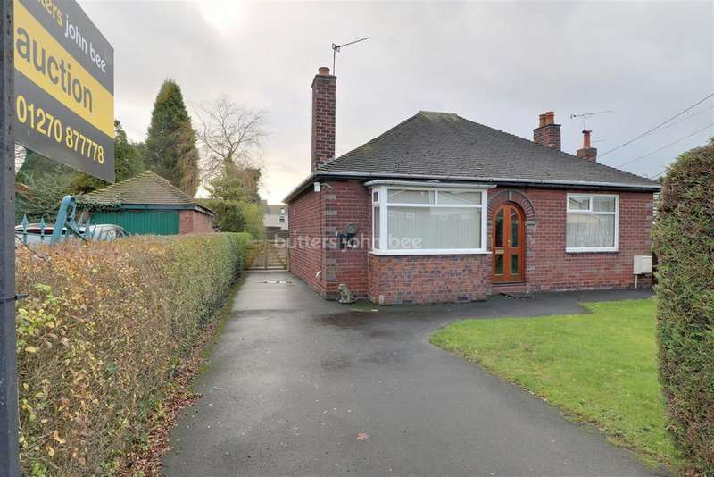 2 Bedrooms Bungalow for sale in The Bank, Scholar Green