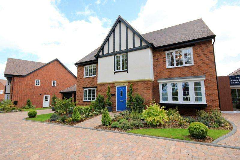 5 Bedrooms Detached House for sale in Waterford Crescent, Barlaston