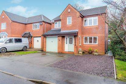 4 Bedrooms Detached House for sale in The Croft, Ashby-De-La-Zouch, Leicestershire