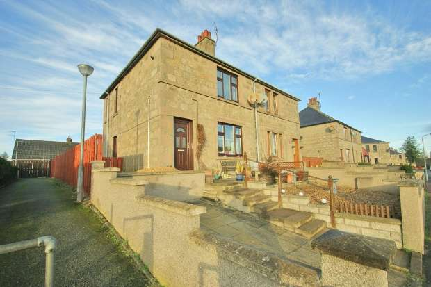 3 Bedrooms Semi Detached House for sale in Castle Park Road, Huntly, Aberdeenshire, AB54 8HU