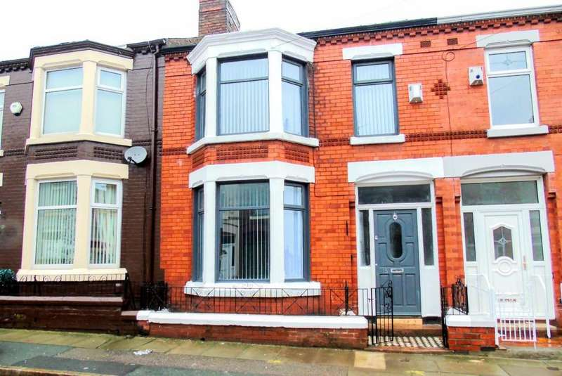 3 Bedrooms Terraced House for sale in Clapham Road, Liverpool