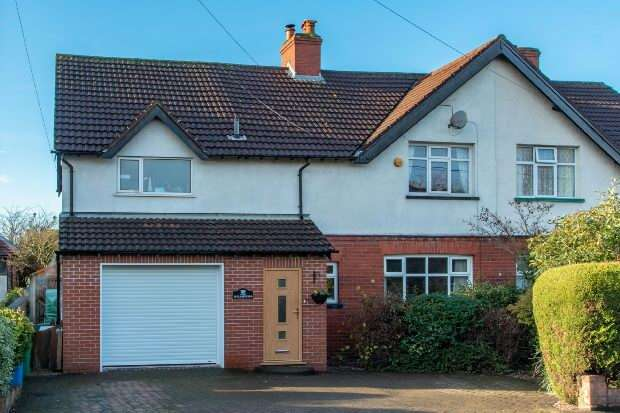4 Bedrooms Semi Detached House for sale in Seamons Road, Altrincham