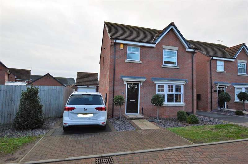 3 Bedrooms Detached House for sale in Jackson Crescent, East Leake, Loughborough