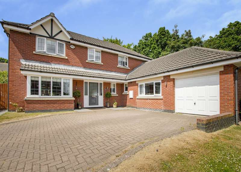 5 Bedrooms Detached House for sale in 9 Ashfurlong Park, Dore, S17 3LD