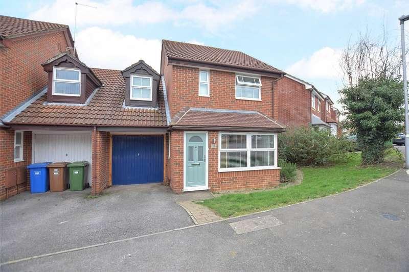 3 Bedrooms Link Detached House for sale in Lammas Mead, Temple Park, Binfield, Berkshire, RG42