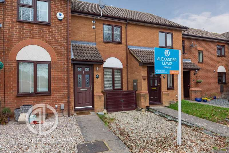 2 Bedrooms Terraced House for sale in Ramerick Gardens, Arlesey SG15 6XZ