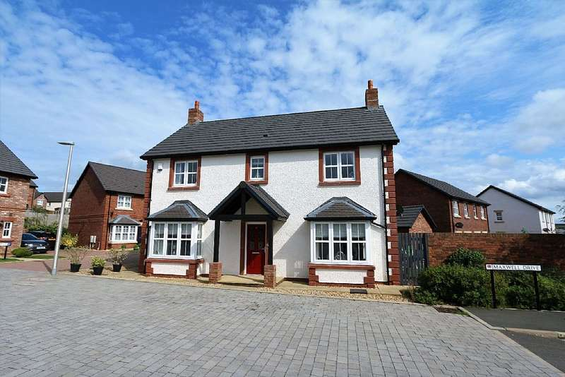 4 Bedrooms Detached House for sale in 43, Maxwell Drive, Kingstown, Carlisle, Cumbria, CA6 4EB