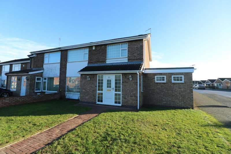 3 Bedrooms Semi Detached House for sale in Gleneagles Avenue, Rushey Mead