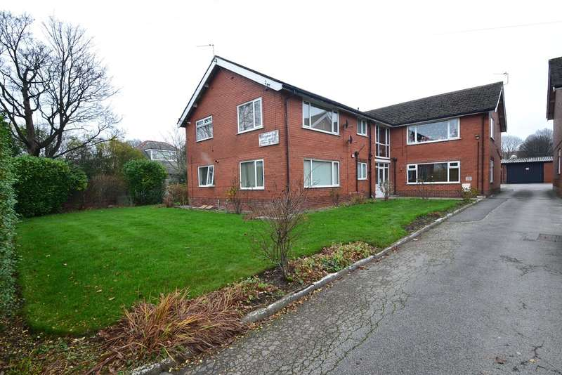 2 Bedrooms Flat for sale in Harrytown Court, Bredbury Green, Romiley, Stockport SK6 3BT