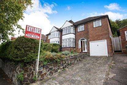 5 Bedrooms Semi Detached House for sale in Wardown Crescent, Luton, Bedfordshire