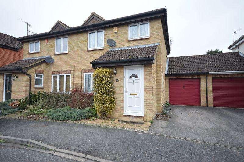 3 Bedrooms Semi Detached House for sale in Elveden Close, Luton