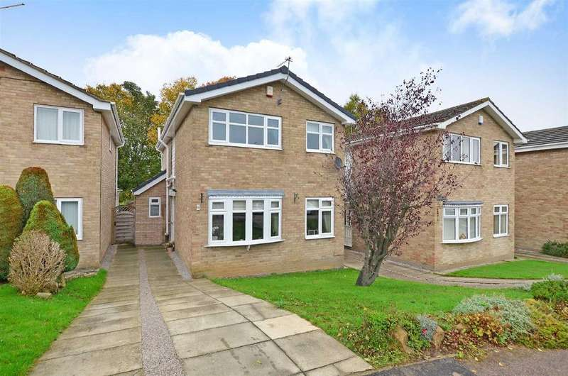 4 Bedrooms Detached House for sale in Marston Close, Dronfield Woodhouse, Dronfield