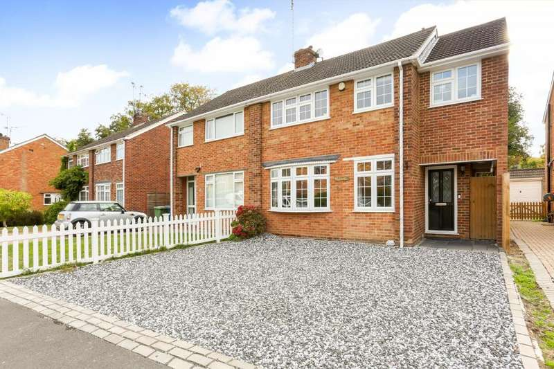 4 Bedrooms Semi Detached House for sale in Prince Andrew Way, Ascot